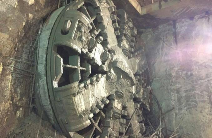 Metro na Wolę: Krystyna przebiła się na stację Młynów. Pierwszy odcinek tunelu gotowy