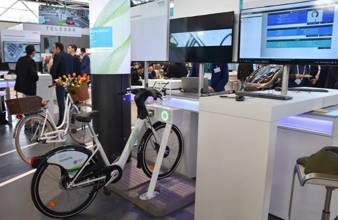 Siemens z rowerem miejskim i inteligentnymi rozwiązaniami dla aglomeracji [zdjęcia]