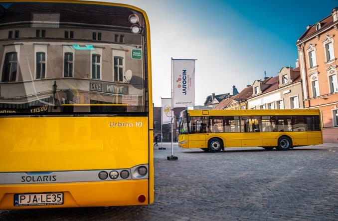 Jarocin kupuje 4 autobusy