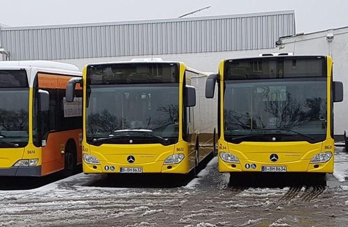 Gdańsk dokupił używane Mercedesy z Berlina