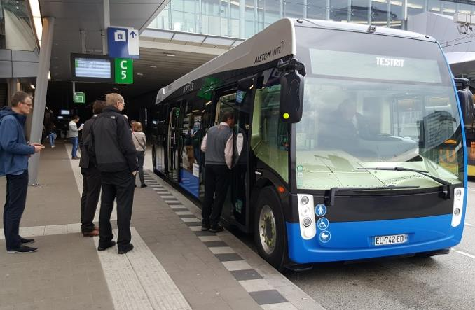Holandia. Alstom testuje Aptisa m.in. w Rotterdamie