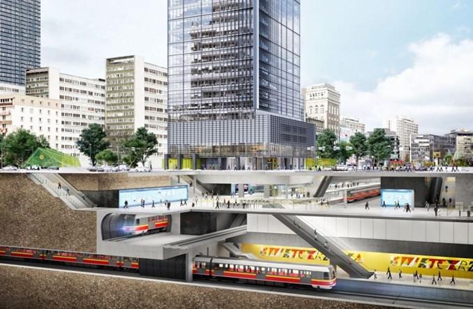 Warszawa: Rusza budowa wieżowca nad stacją metra Świętokrzyska