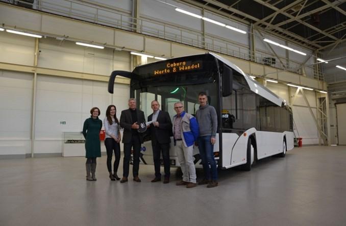 Solaris dostarcza autobusy do Coburga