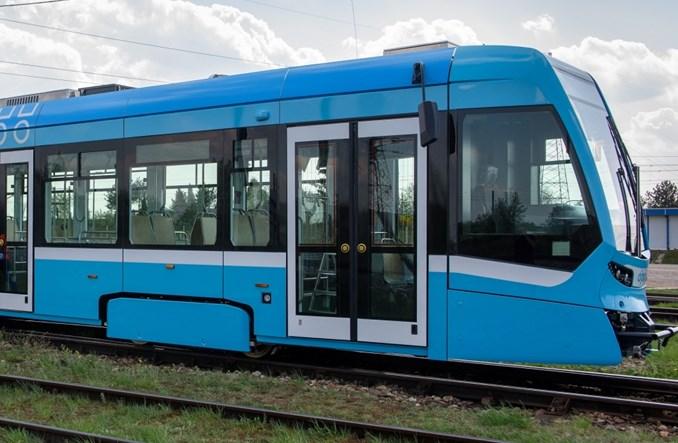 Pierwszy tramwaj wyprodukowany w Siedlcach opuścił zakład Stadlera