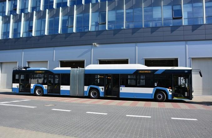 Solaris sprzeda przegubowe trolejbusy do Mediolanu