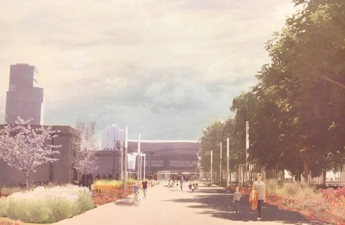 Warszawa: Zielony ogród połączy metro z Dworcem Centralnym