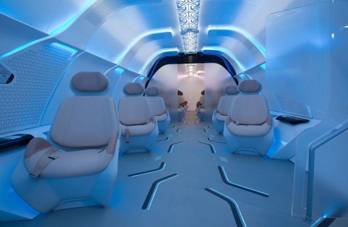 BMW projektuje kapsułę hyperloopa dla Dubaju