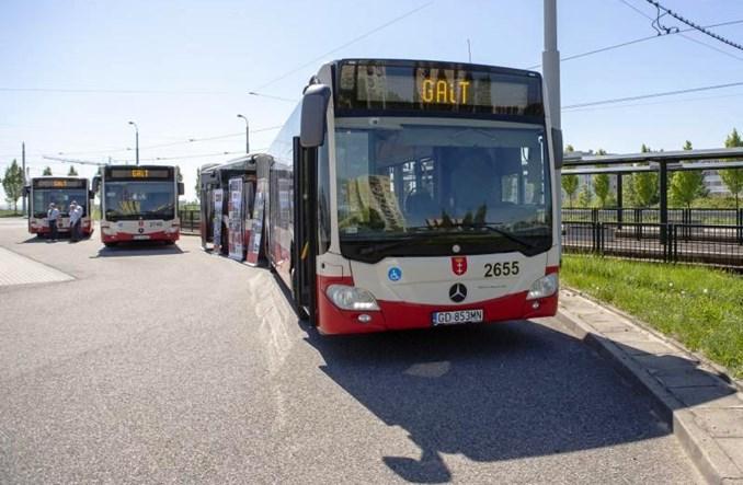 Gdańsk wydzierżawi  48 autobusów Mercedesa