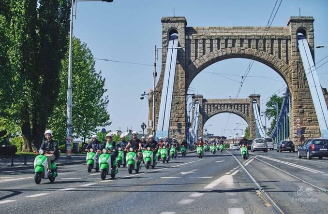 Wrocław. Ruszył skuter sharing na 100 pojazdów