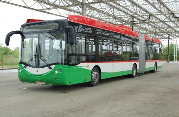 Lublin. Pierwszy przegubowy trolejbus od Ursusa już w zajezdni