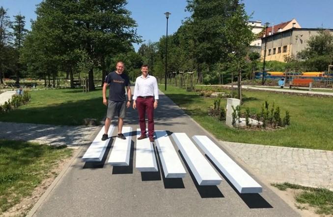 Lidzbark Warmiński: Pierwsza w Polsce zebra w technice 3D