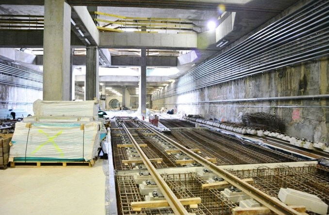Metro na Targówku: Pół roku przed harmonogramem, pracują już strażacy