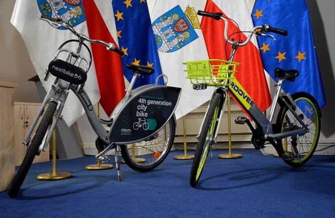 Poznań. Nadchodzi rower miejski nowej generacji