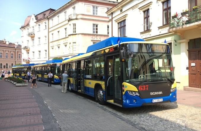 Tarnów wprowadza do ruchu 21 autobusów Scania CNG