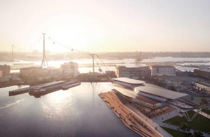 Amsterdam. UNStudio przedstawiło wizualizację kolei linowej