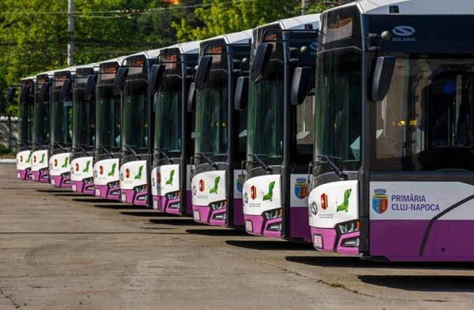 Solaris dostarczył pierwsze elektrobusy do Rumunii