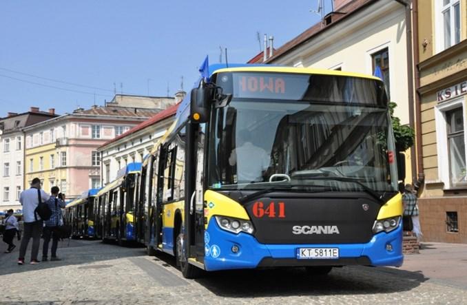 """Tarnów z nowymi Scaniami. Prezes MPK: """"Nasze autobusy to przesiadka do BMW"""""""