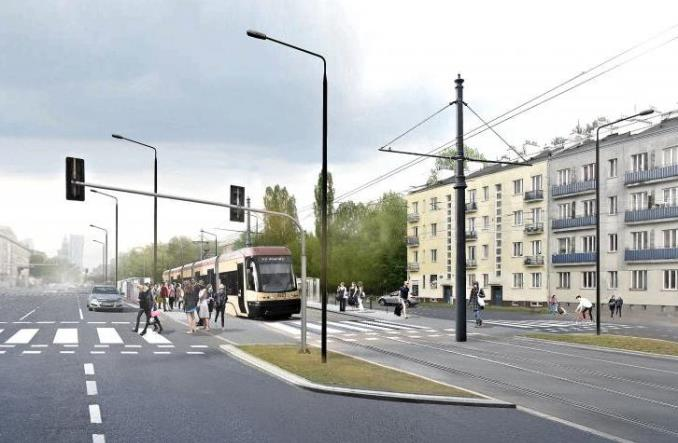 Warszawa: Rusza przetarg na projekt tramwaju na Kasprzaka