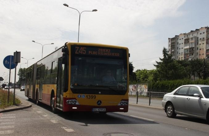 Ozorków: Problemy z komunikacją zastępczą za tramwaj