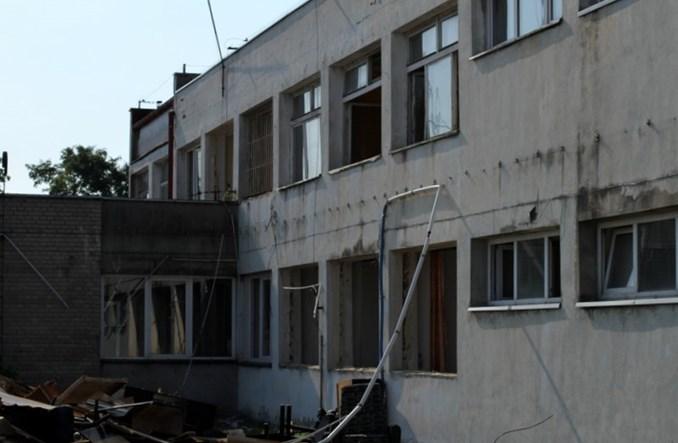 Łódź: Początek przebudowy zajezdni Limanowskiego. Znika budynek biurowy [ZDJĘCIA]