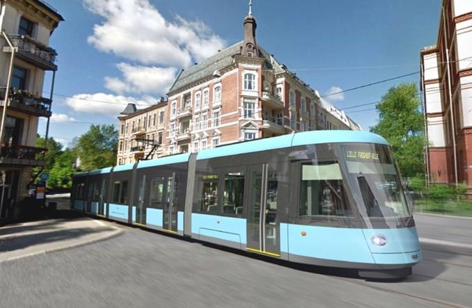 CAF dostarczy 87 tramwajów do Oslo