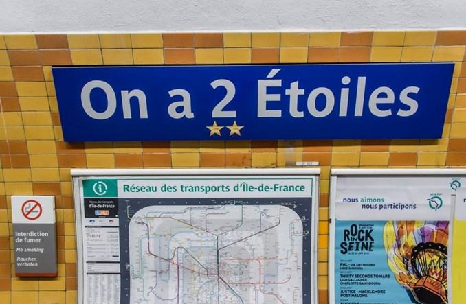 Paryż. Metro zmieniło nazwy stacji po zwycięstwie Francji