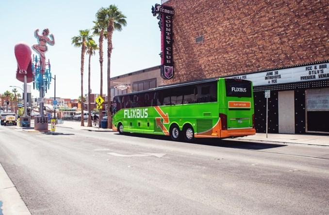 Flixbus podwaja liczbę kursów w USA