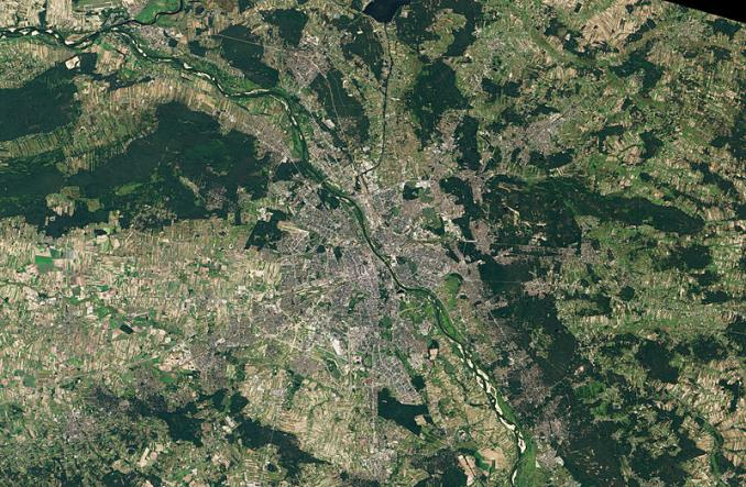 Czy Warszawa jest chaotyczna? Mniej niż Berlin