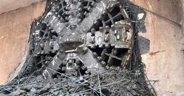 Metro na Woli: Krystyna przebiła się na Rondo Daszyńskiego. Tunel północny wydrążony