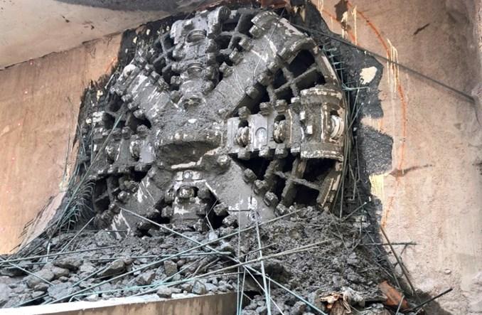 Metro na Wolę: Tarcza Krystyna kończy drążyć swój ostatni tunel