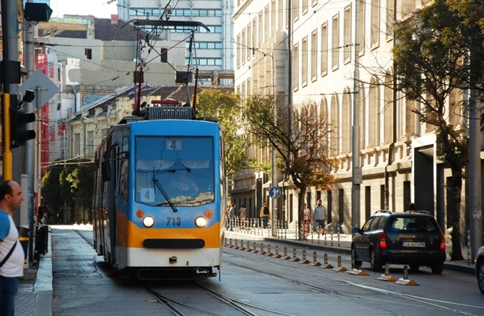 Komunikacja miejska w Sofii na zdjęciach