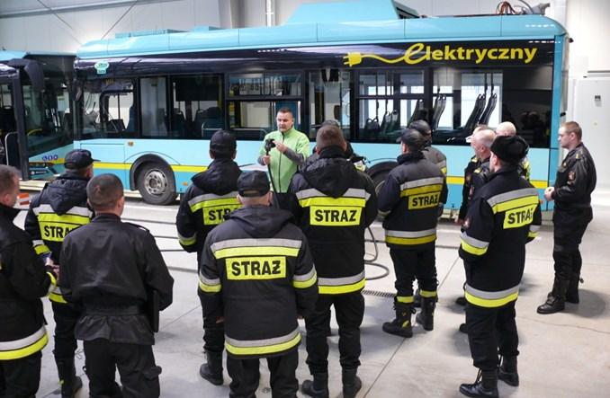 Solaris prowadzi szkolenia dla strażaków
