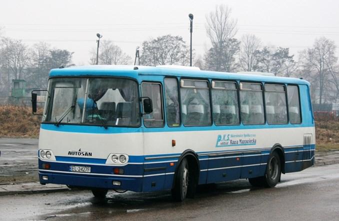 Łódzkie: Wojewódzkich autobusów do Rawy Maz. nie będzie