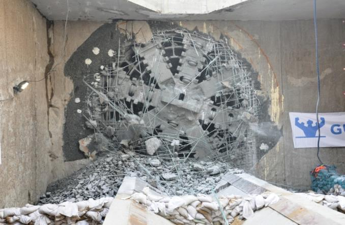 Metro. Koniec drążenia tuneli na Woli. Maria na Rondzie Daszyńskiego