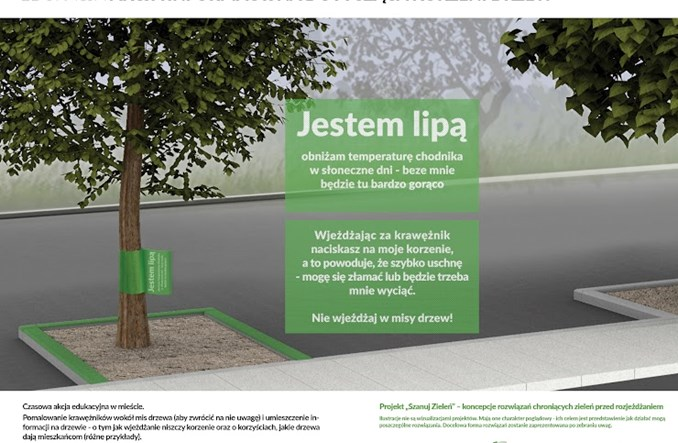 Warszawa. Jak chronić tereny zielone, jeśli nie słupkami?