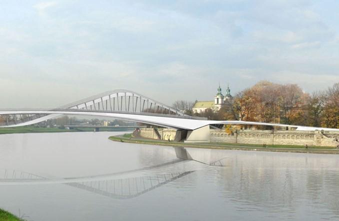 Kraków: Przygotowania do budowy kładki przez Wisłę na ostatniej prostej