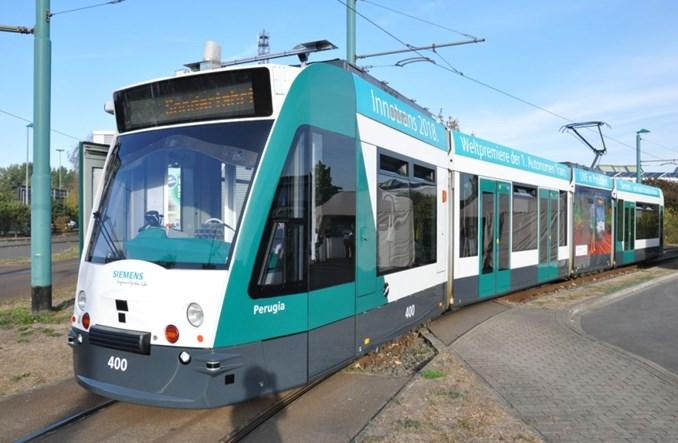 Poczdam: Autonomiczny tramwaj jeździł po mieście. A my w nim