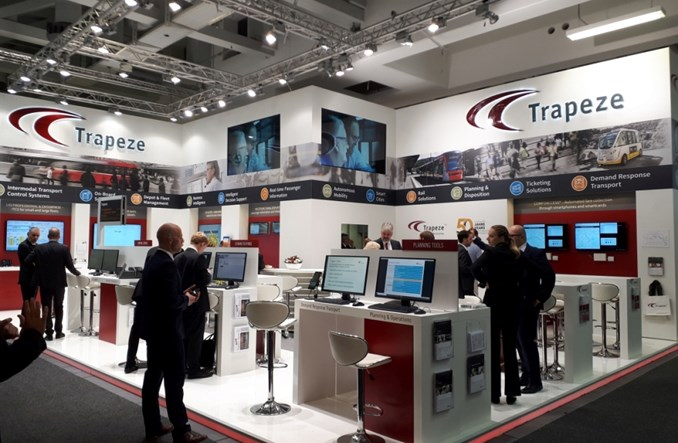 Trapeze Group na targach InnoTrans 2018