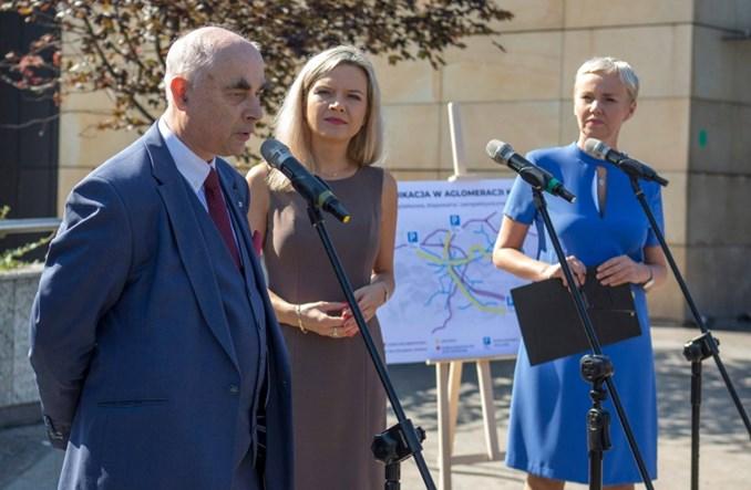 Małgorzata Wassermann proponuje mieszkańcom Krakowa metro i kolej aglomeracyjną
