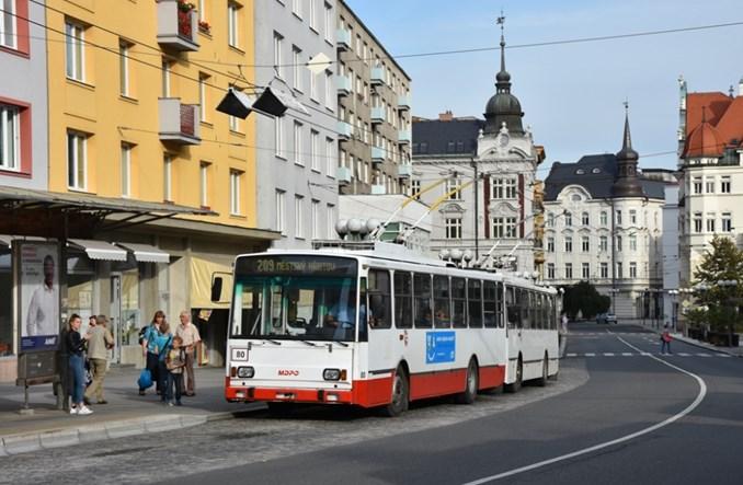 Komunistyczna prasa w Opawie zapraszała na pożegnanie trolejbusów Škoda 14 Tr. To już niebawem