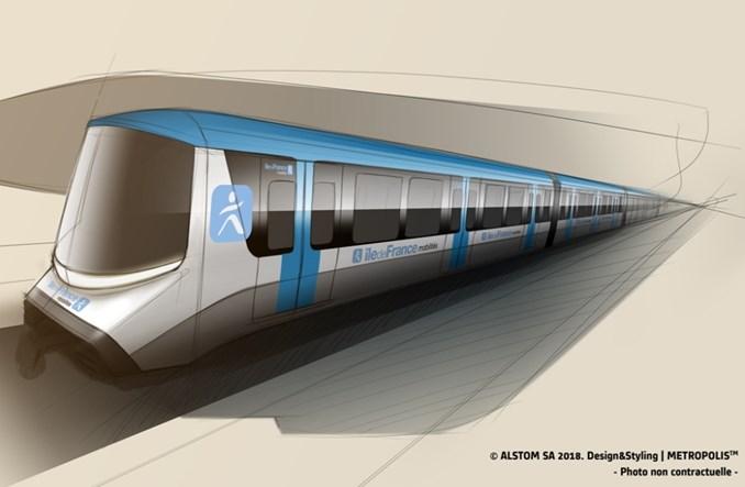 Paryż: Alstom dostarczy pociągi dla trzech kolejnych linii metra
