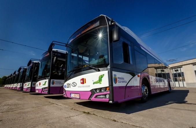 Elektryczny Solaris podbija Rumunię. 18 pojazdów dla Klużu