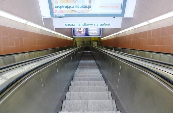 Metro przygotowuje się do wymiany schodów na Centrum. Spore utrudnienia