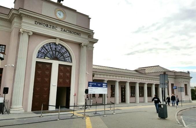 Dworzec Zachodni w Poznaniu otwarty dla podróżnych