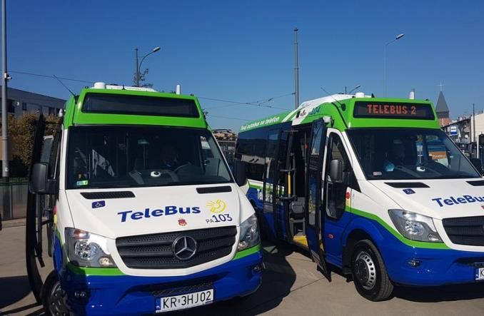 Kraków ma nowe minibusy do obsługi Tele-busa