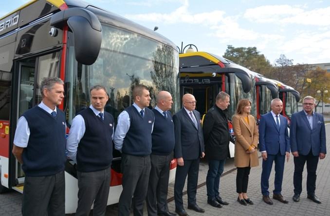 Inowrocław. Pierwsze w Polsce autobusy hybrydowe plug–in