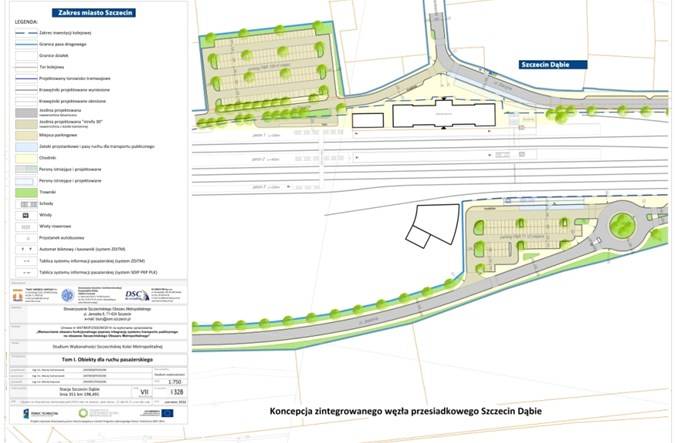 Szczecin. Podpisano umowę z projektantem węzłów przesiadkowych SKM