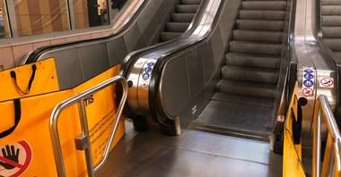 Metro zleca analizę pożarową ws. wymiany schodów na Centrum