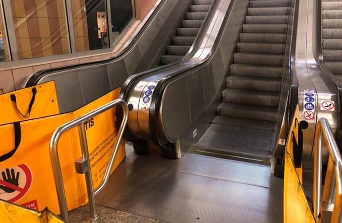 Metro o oświadczeniu TDT: Zakaz chodzenia po schodach ruchomych to fikcja