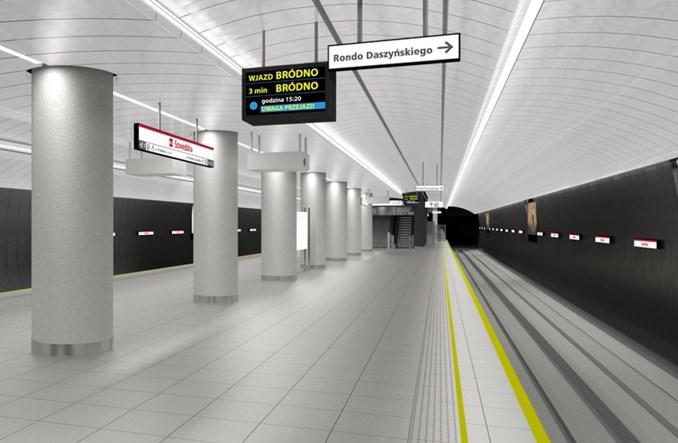 Metro na Targówku zmienia wystrój. Bardziej stonowany i jednolity
